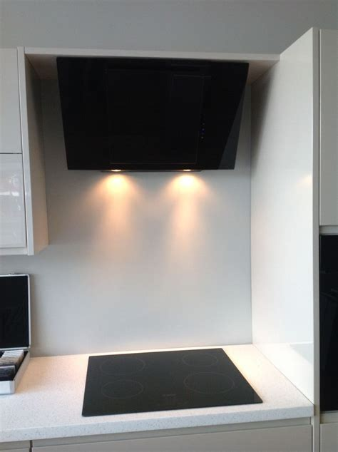 funky modern kitchen induction hob cooker  extractor hood kitchen pinterest