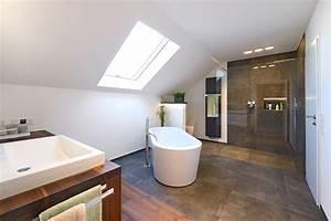 Freistehende Badewanne Holz : badezimmer sanieren eichenhaus schreinerei architekturb ro ~ Yasmunasinghe.com Haus und Dekorationen