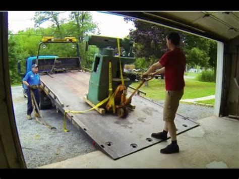 How To Move A Milling Machine And Lathe Like A Pro! Youtube