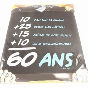 Cadeau Homme 60 Ans : cadeau original pour anniversaire 60 ans gosupsneek ~ Teatrodelosmanantiales.com Idées de Décoration
