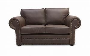 Big Sofa Vintage : mayo vintage leather sofa large round studded arms comfy seat cushions ~ Markanthonyermac.com Haus und Dekorationen