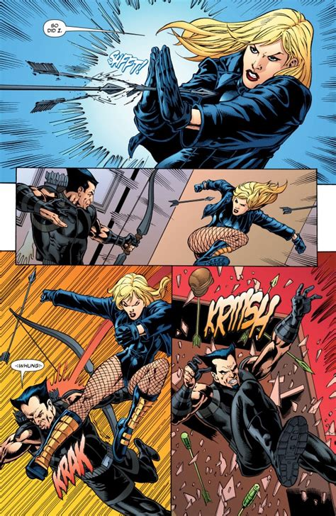 black canary pre flashpoint respect thread gen