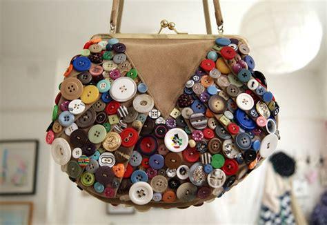 diy button embellished bag burkatron