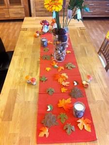 Einfache Herbstdeko Tisch : herbstdekoration gestaltungs ideen foto beispiele hausbau blog ~ Markanthonyermac.com Haus und Dekorationen