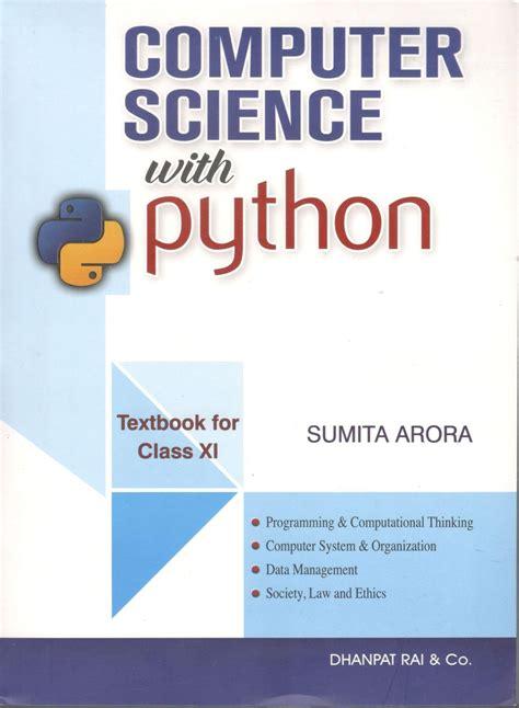 buy dhanpat rai computer science  python  class