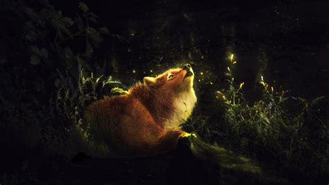 Hd Wallpapers 1366x768 Animals - wallpaper foxes animals painting 1366x768