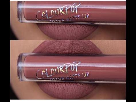 color pop review color pop cosmetics ultra matte lipstick swatches plus