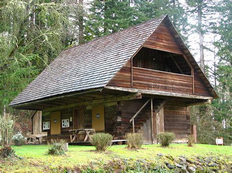 Log Cabin : Horace Baker Log Cabin