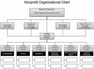 Download The Nonprofit Org Chart From Vertex42 Com