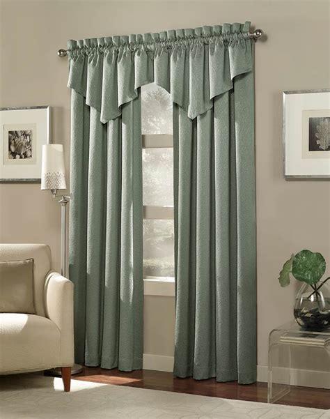tailored window valance living room curtains  valance