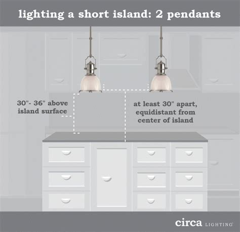 kitchen island pendant lights lighting tips size and placement guide