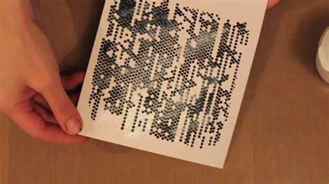 studio sn card making  embossing paste  stencils