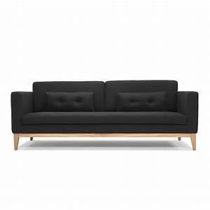 Sofa Beine Holz : day sofa mit gestell und beine aus holz gepolstert und mit stoff bezogen ~ Buech-reservation.com Haus und Dekorationen