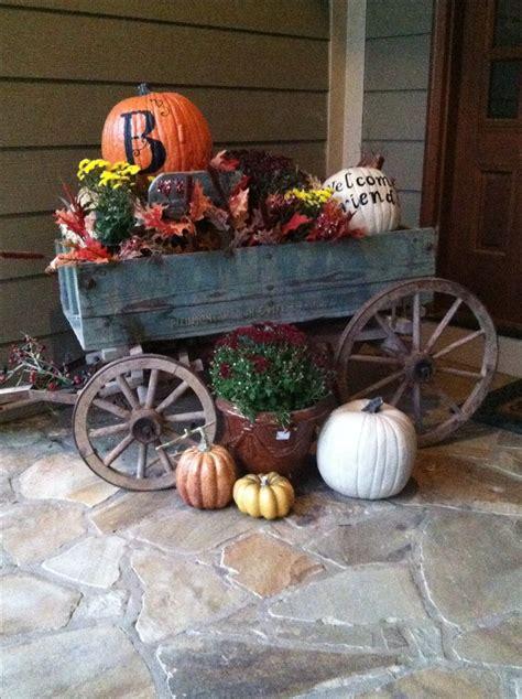 enjoyed decorating  dads  goat wagon  fall fall