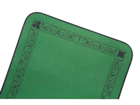 cool grand tapis de jeu cartes luxe en feutre vert x cm