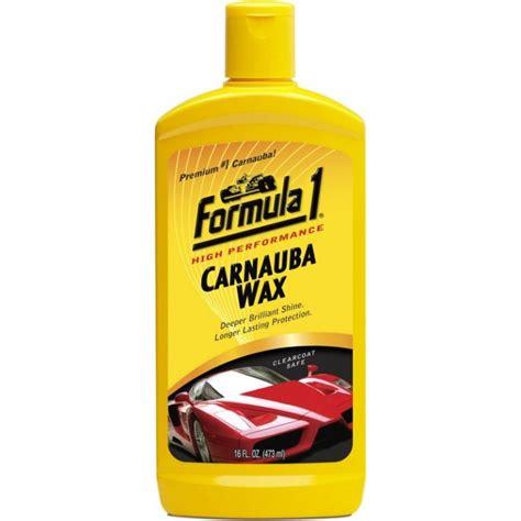 High Performance Formula1 Carnauba Wax for Exterior(473 ml)