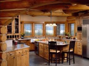 log cabin kitchen ideas pics photos luxury cabin kitchen modern 7 log home gourmet kitchen thraam com
