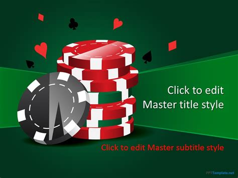 poker  template