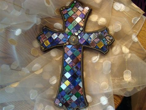 17 Best Images About Mosaic Crosses On Pinterest