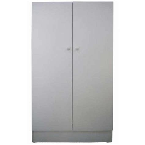White Clothes Cupboard by 2 Door Budget White Linen Pantry Clothes Cupboard Storage