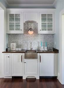 herringbone marble tile backsplash contemporary With kitchen colors with white cabinets with mini cooper metal wall art