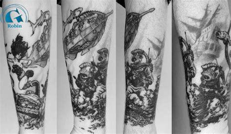 tatouage bras homme graphicaderme