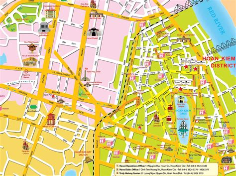 map  hanoi hanoi political maphanoi tourist map