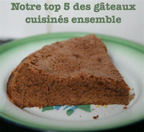 cuisiner des gateaux notre top 5 des gâteaux à cuisiner en famille cabane à idées