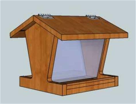 bird feeder plans build a bird feeder