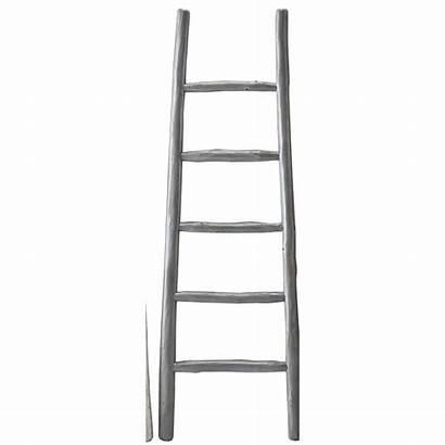 Ladder Shelf Corner Blanket Wood Round Stand