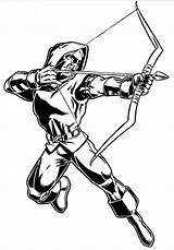Arrow Coloring Pages Coloriage Adult Marvel Iverson Superhero Archer Cw Anime Allen Superheroes Sheets Dc Spacehamster Colouring Template Drawing Super sketch template