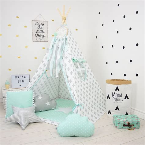 Tipi Zelt Kinderzimmer Etsy by Teepee Set Play Tent Tipi Kid Play Teepee Child