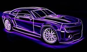 Purple Neon Camaro by bordrcolli96 on DeviantArt