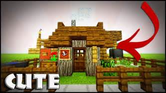 minecraft   build  small survival house tutorial easy efficent compact house