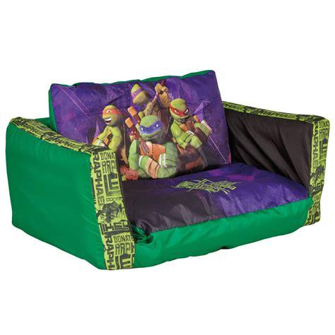 teenage mutant ninja turtles flip out sofa bed new