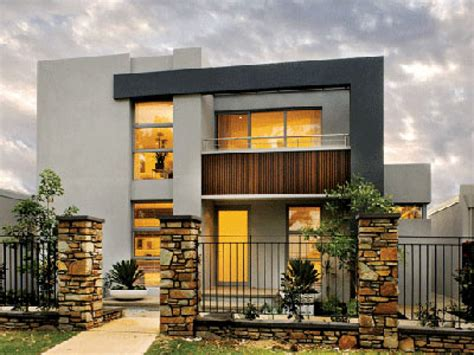 Home Design 2 Floor : 2 Storey Modern House Designs And Floor Plans Tips