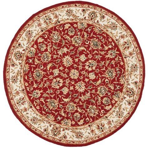 4 ft area rugs safavieh chelsea burgundy ivory 4 ft x 4 ft area