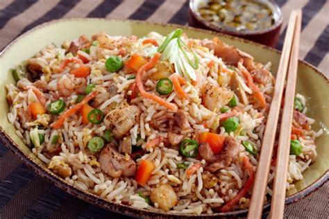mixed fried rice  indian cooking  authentic