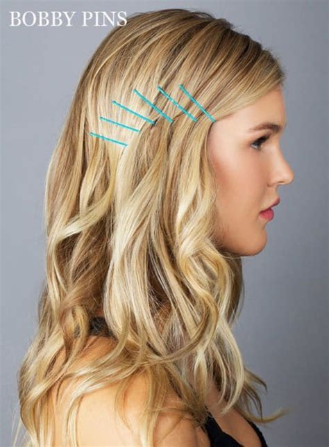 gorgeous bobby pin hairstyles    easily    minutes