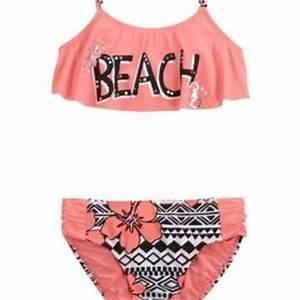 Beach Flounce Bikini Swimsuit | Girls from Justice