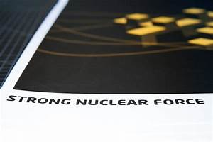 The 4 Forces Of Physics Poster Series  Strong Nuclear