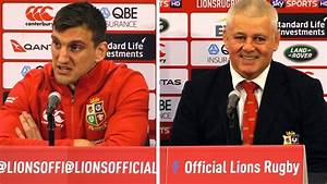 New Zealand vs Lions - Third Test - Warren Gatland & Sam ...