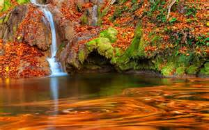 Fall Autumn Desktop Backgrounds with Water
