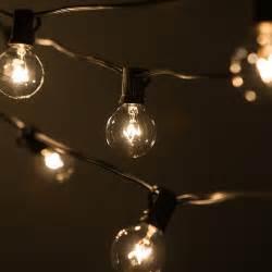 100 foot string patio garden lights outside vintage bulbs cafe exterior backyard ebay