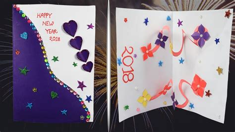 How To Make New Year Card Easily