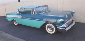 1958 Chevrolet Bel Air 2 Door Hard Top Hot Rod Custom