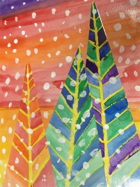 elementary school christmas tree crafts 2nd grade smarty arties taught by the groovy