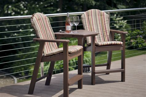 patio furniture counter height chairs adirondack