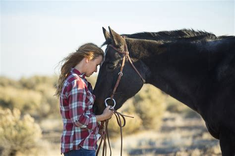 therapy equine horses help horse heal humans hugging ground riding ptsd horseback advice woman usnews