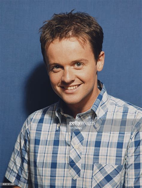 English television presenter Declan Donnelly, aka Dec of ...